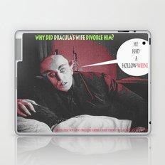 "'Count Orlock, the Vampire #3' from "" Nosferatu vs. Father Pipecock & Sister Funk (2014)"" Laptop & iPad Skin"
