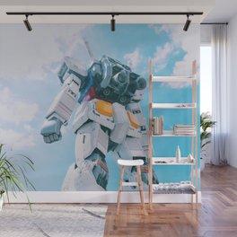 Gundam Sky Photoshot Wall Mural