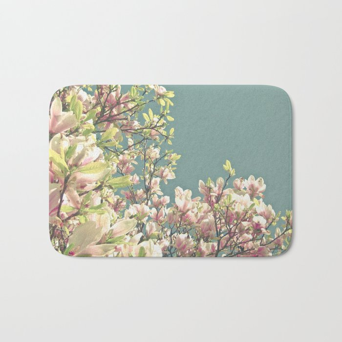 Magnolia in Bloom Bath Mat