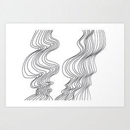 Parallel Lines No.: 02. Art Print