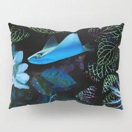 Blue light sea, photographic composition Pillow Sham