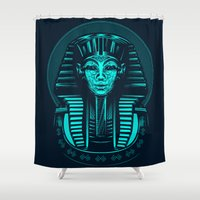 egypt Shower Curtains featuring Egypt by nicksimon