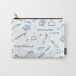 Let's write a postcard Carry-All Pouch