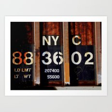 NYC 88 36 02 Art Print