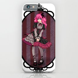Gothic Lolita iPhone Case