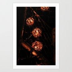 Spheres Art Print