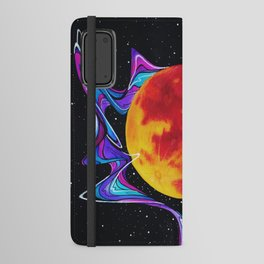 Super Blood Wolf Moon Android Wallet Case