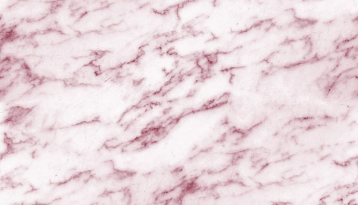 Contento rosa pink marble Pillow Sham