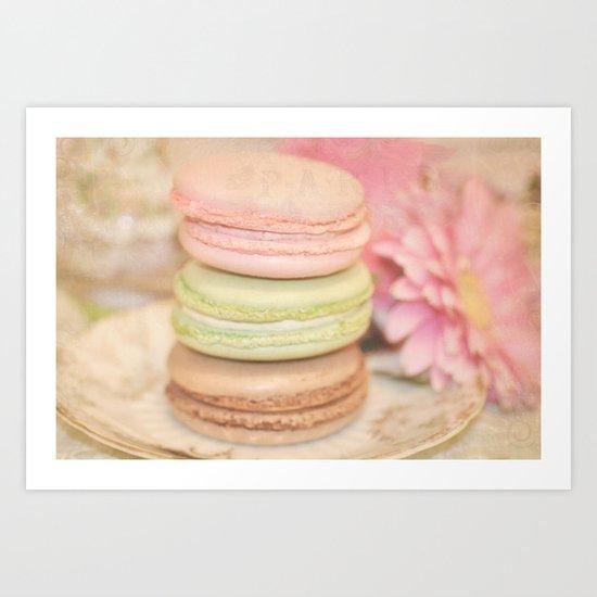 les Macarons... Art Print