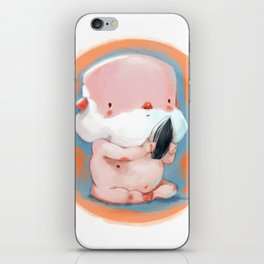Oldman Babyface iPhone Skin