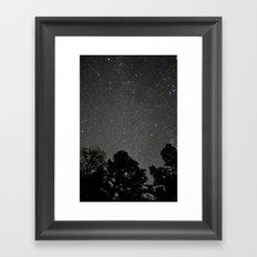 The Stars Framed Art Print