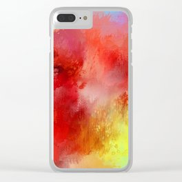 Expressions 19 Clear iPhone Case