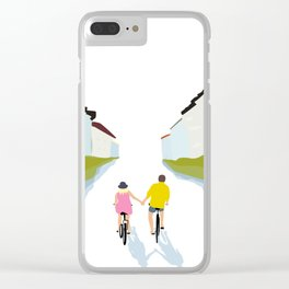 togetherness Clear iPhone Case
