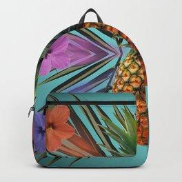 Pineapple Hibiscus Backpack
