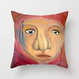 Bystander. Throw Pillow