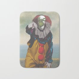 "IT's Pennywise in ""The Son of a Man"" Bath Mat"