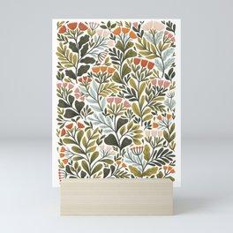 Month of May ~ white Mini Art Print