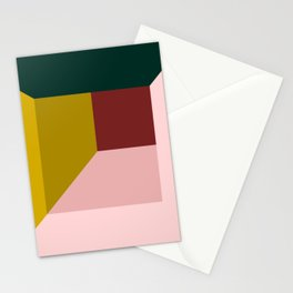 Abstract room Stationery Cards