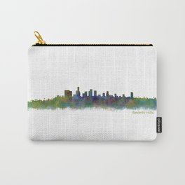 Beverly Hills City in LA City Skyline HQ v2 Carry-All Pouch