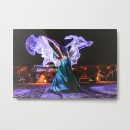 Belly Dancer Metal Print