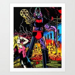 ULTRA-DESTROYER Art Print