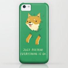 bush shiba iPhone 5c Slim Case