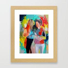 Sam and Mon Framed Art Print