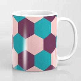 Honeycomb Pattern Coffee Mug