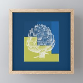 Artichoke Framed Mini Art Print