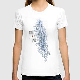 Seneca Live Love Lake T-shirt