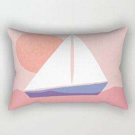 Abstraction_Sailing_Ocean Rectangular Pillow