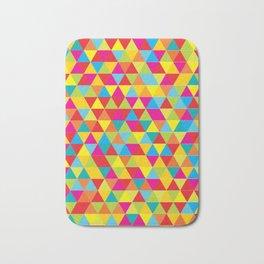 Summer Triangle Pattern Bath Mat