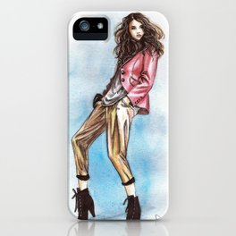 Addison Gill iPhone Case
