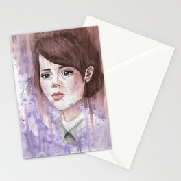 Watercolor Emily Caldwin / Dishonored Stationery Cards