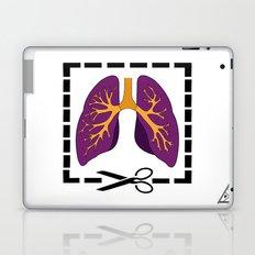Cut My Lung Laptop & iPad Skin