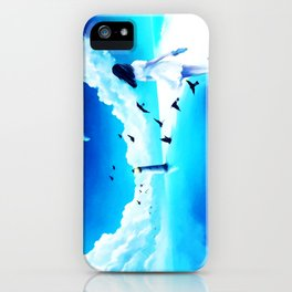 Lighthouse At The Sea iPhone Case