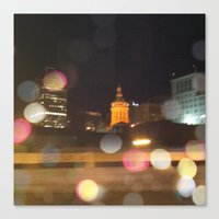 baltimore Canvas Prints featuring Baltimore by Gertrude Wolf