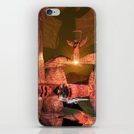 The angel of death iPhone Skin