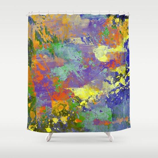 Signs Of Life Vibrant Random Paint Splatter Multi Coloured