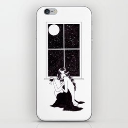 Lonely Is The Night iPhone Skin