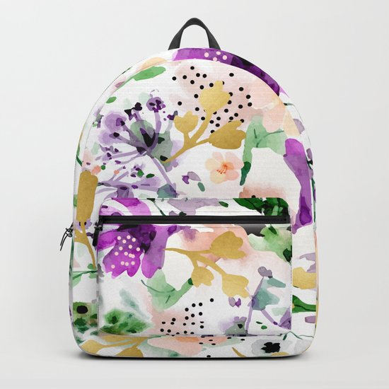Violet #society6 #decor #buyart Backpack