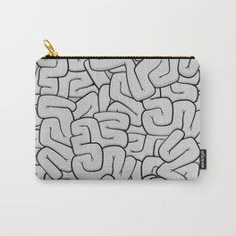 Guts or Brains - Grey Carry-All Pouch