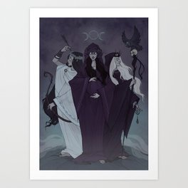 Triple Goddess Kunstdrucke