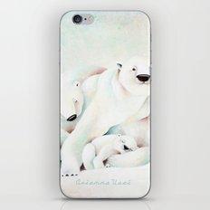 Polar Bears iPhone Skin