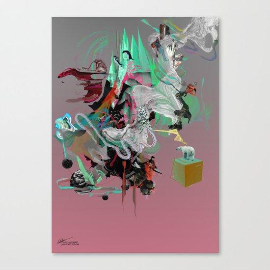 Pluie Canvas Print