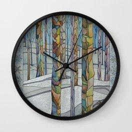 Winter II Wall Clock