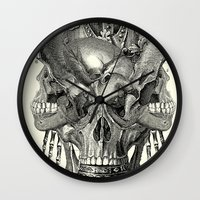 shield Wall Clocks featuring  Shield by DIVIDUS