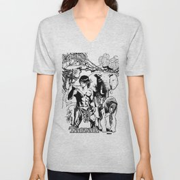 Tarzan of the Apes by Peter Melonas Unisex V-Neck