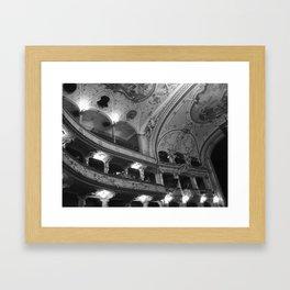 Opera Framed Art Print