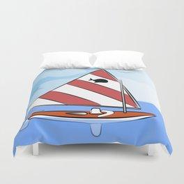 Sunfish Duvet Cover